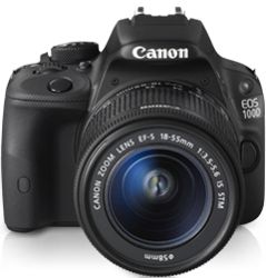 Canon EOS 100D Body + EF-S 18-55 IS STM