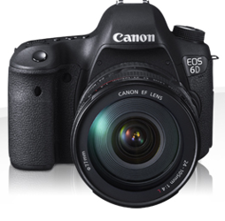 Canon EOS 6D Body + EF 24-70mm f/4L IS USM
