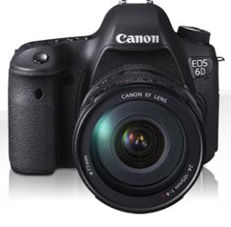 Canon EOS 6D Body + EF 24-70mm f/4L IS USM - cashback 650 zł