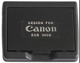 Delta osłona LCD dla Canon 300/350D czarny