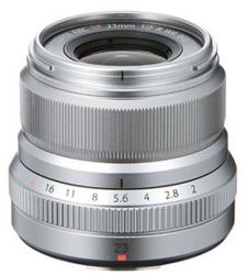 Fujinon XF 23 mm F2 R WR srebrny