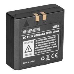 Genesis Stroboss VB-18 bateria LI-ION