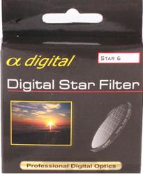King Filtr gwiazdkowy x6 Alpha Digital 62mm