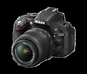 Nikon D5200 + Nikkor AF-S VR II 18-55mm