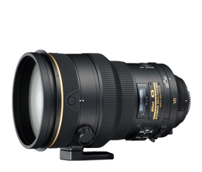 Nikon Nikkor AF 200mm F2.0G IF-ED VR II - cashback 860 zł