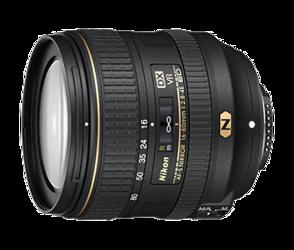 Nikon Nikkor AF-S DX 16-80mm f/2.8-4E ED VR