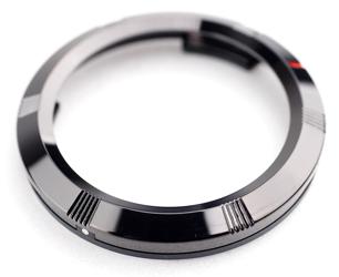 Olympus TG-4 Lens Ring Cover black