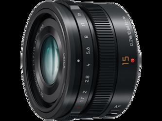 Panasonic LEICA DG SUMMILUX 15 mm / F1,7 ASFER. - czarny (H-X015E-K)
