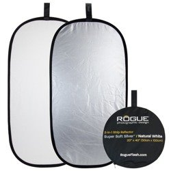 """Rogue 2-in-1 Reflector Silver/White 20x40"""""""