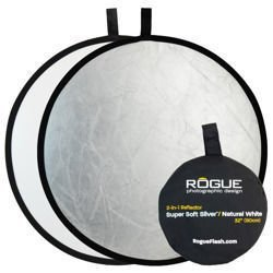 """Rogue 2-in-1 Reflector Silver/White 32"""""""