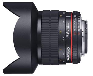 Samyang 14 mm f/2.8 AE ED UMC AS do Canon