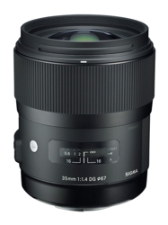 Sigma A 35 mm f/1.4 DG HSM do Sony