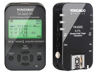 YongNuo zestaw wyzwalaczy YN-622C-KIT LCD