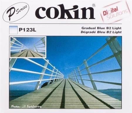 COKIN P123L niebieski połówkowy