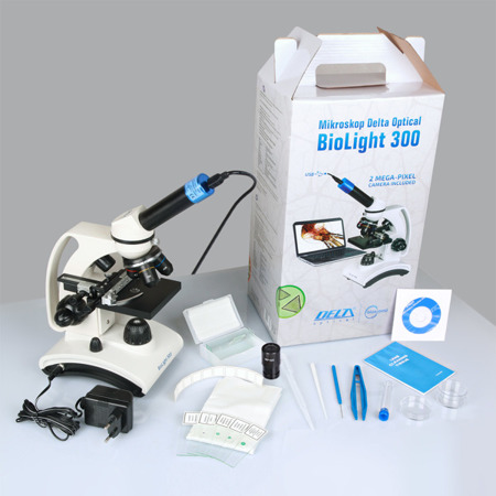 Delta Optical Biolight 300 + kamera DLT-Cam Basic 2 MP