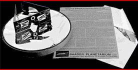 Folia (filtr słoneczny) Baader Planetarium ND 5.0 (10x10cm)