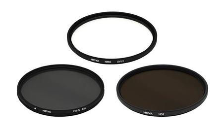 Hoya zestaw UV HMC (C), PL-CIR ,NDX8 52 mm