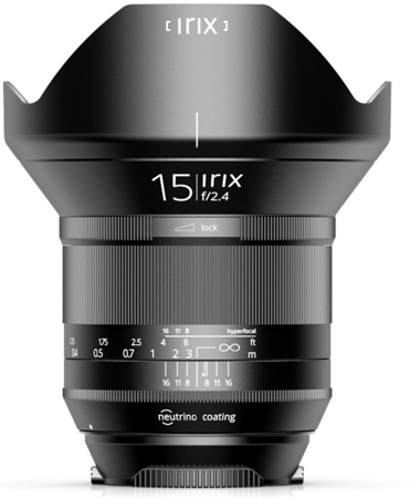 Irix IL-15BS-EF 15mm f/2.4 Blackstone do Canon