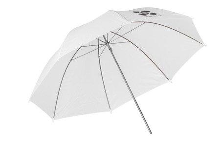 Parasolka Quantuum biała przeźroczysta 120 cm