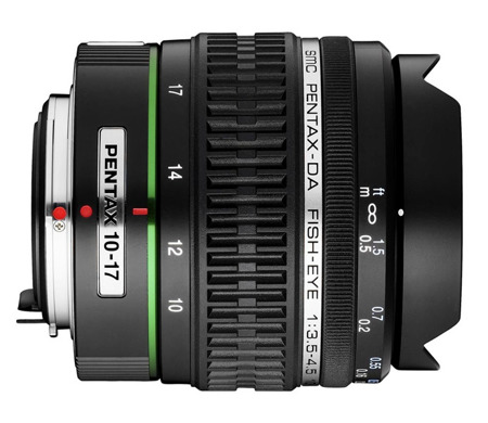 Pentax DA 10-17 mm f/3,5-4.5 ED IF FISH-EYE